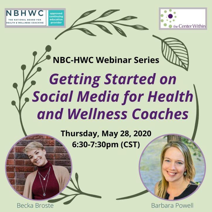 TCW & NBHWC Webinar Series Social Media Graphic-May 28
